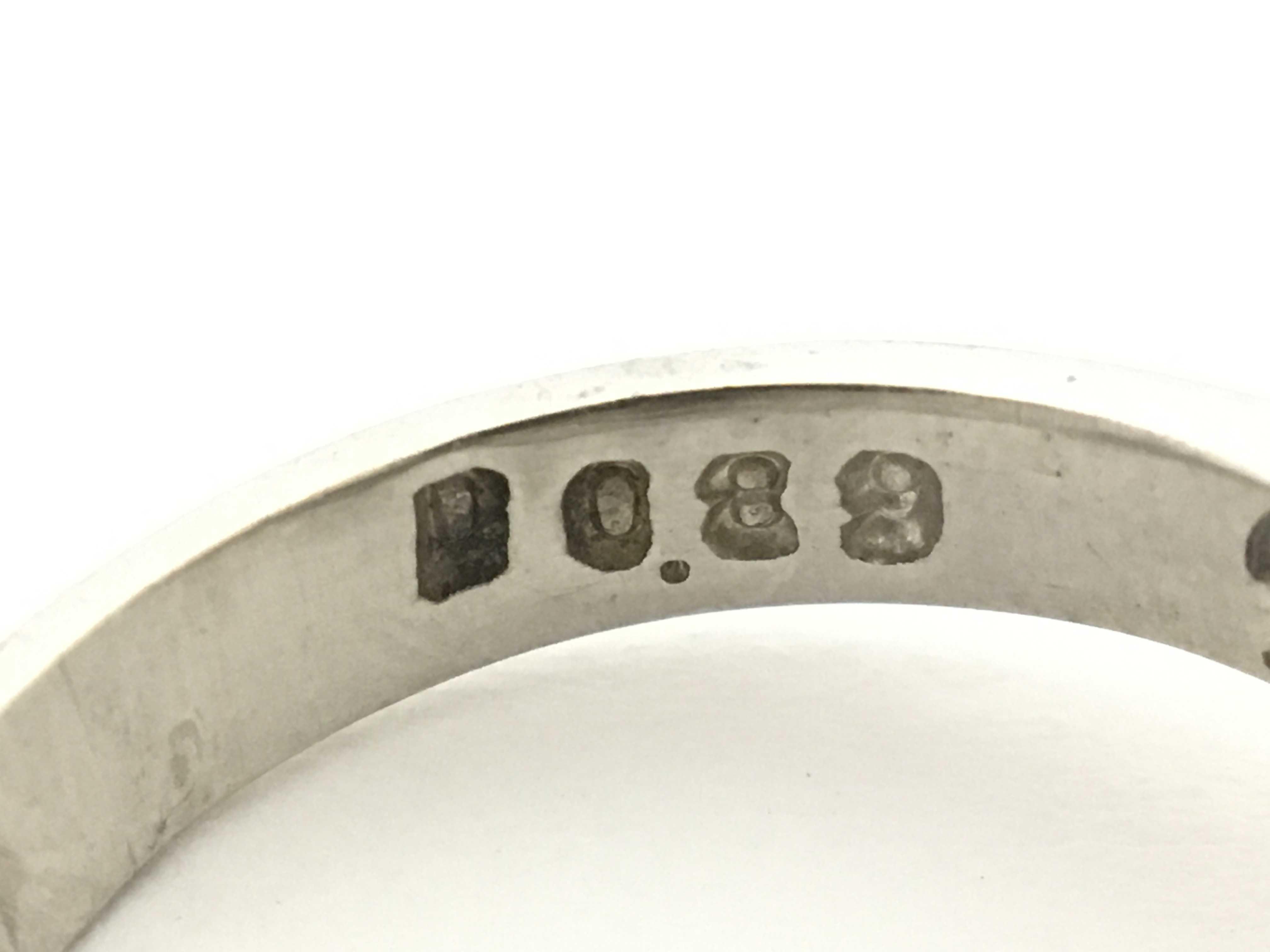 (1394_1803)D0.89ct PM900 7.7g リング(貴金属)