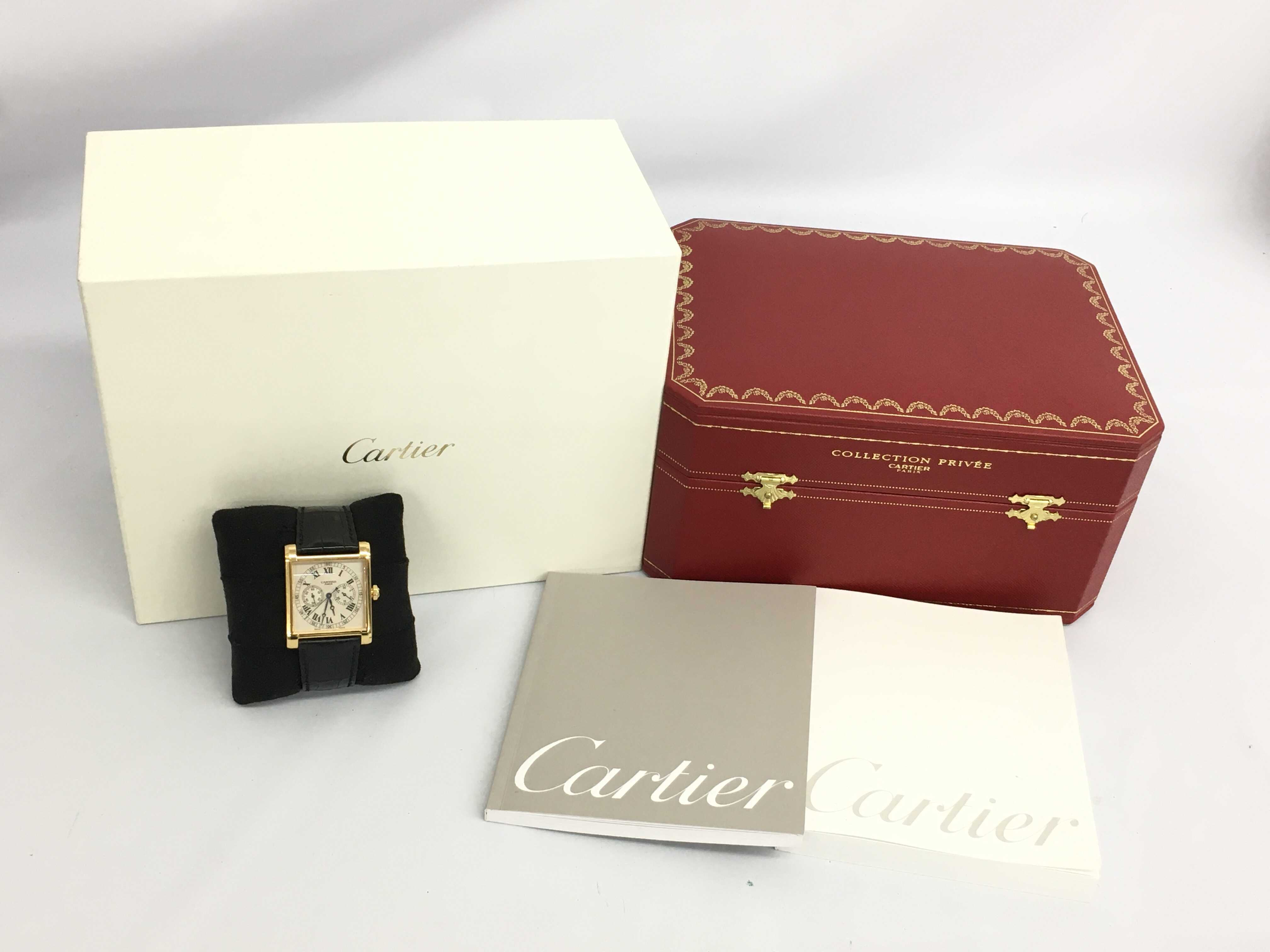 (1630_0391)▼カルティエ タンクコレクション W1549651 2846 007/100 手巻き レディース腕時計