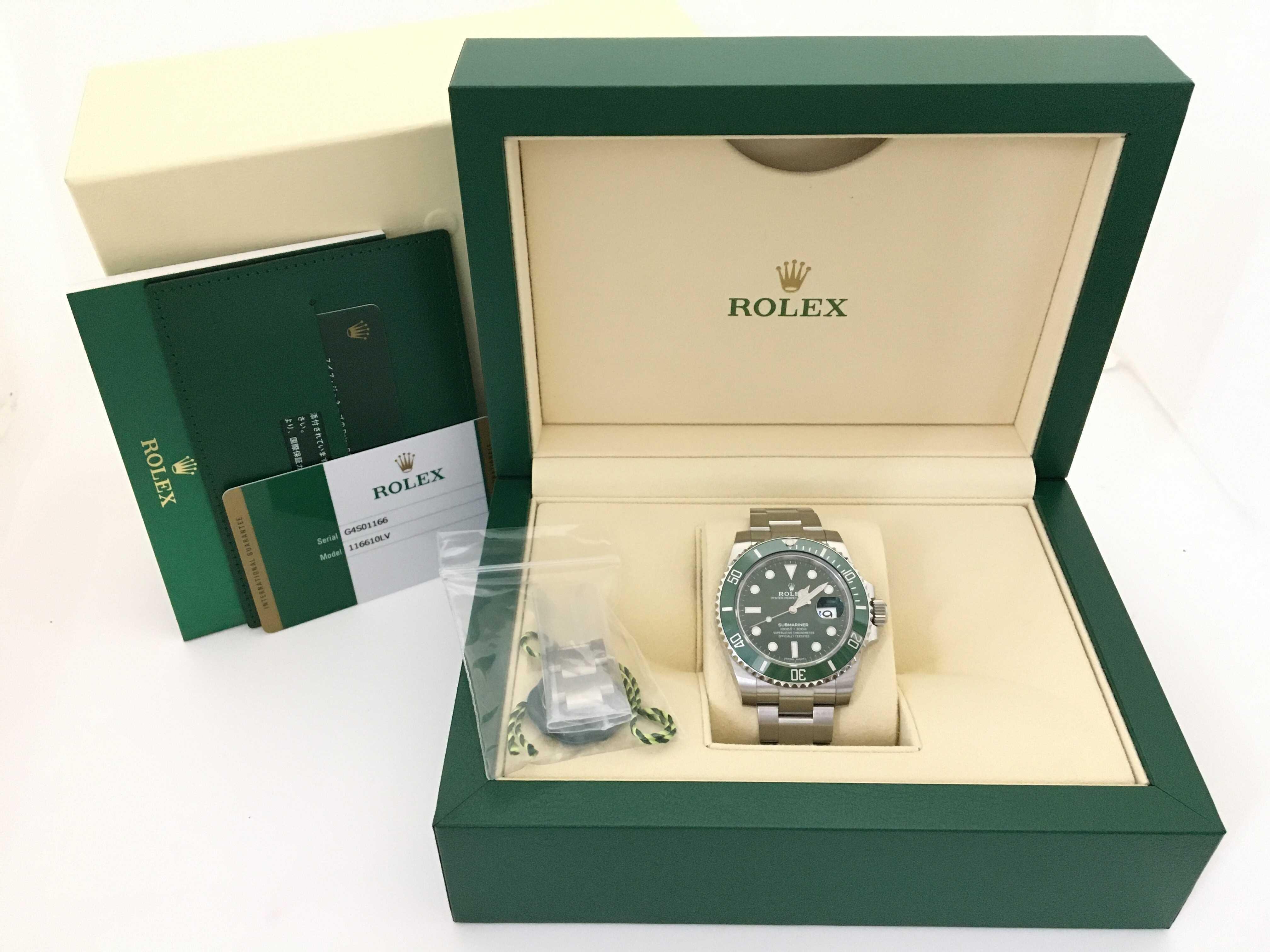 (1630_0185)ロレックス 116610LV G4S01166 メンズ腕時計