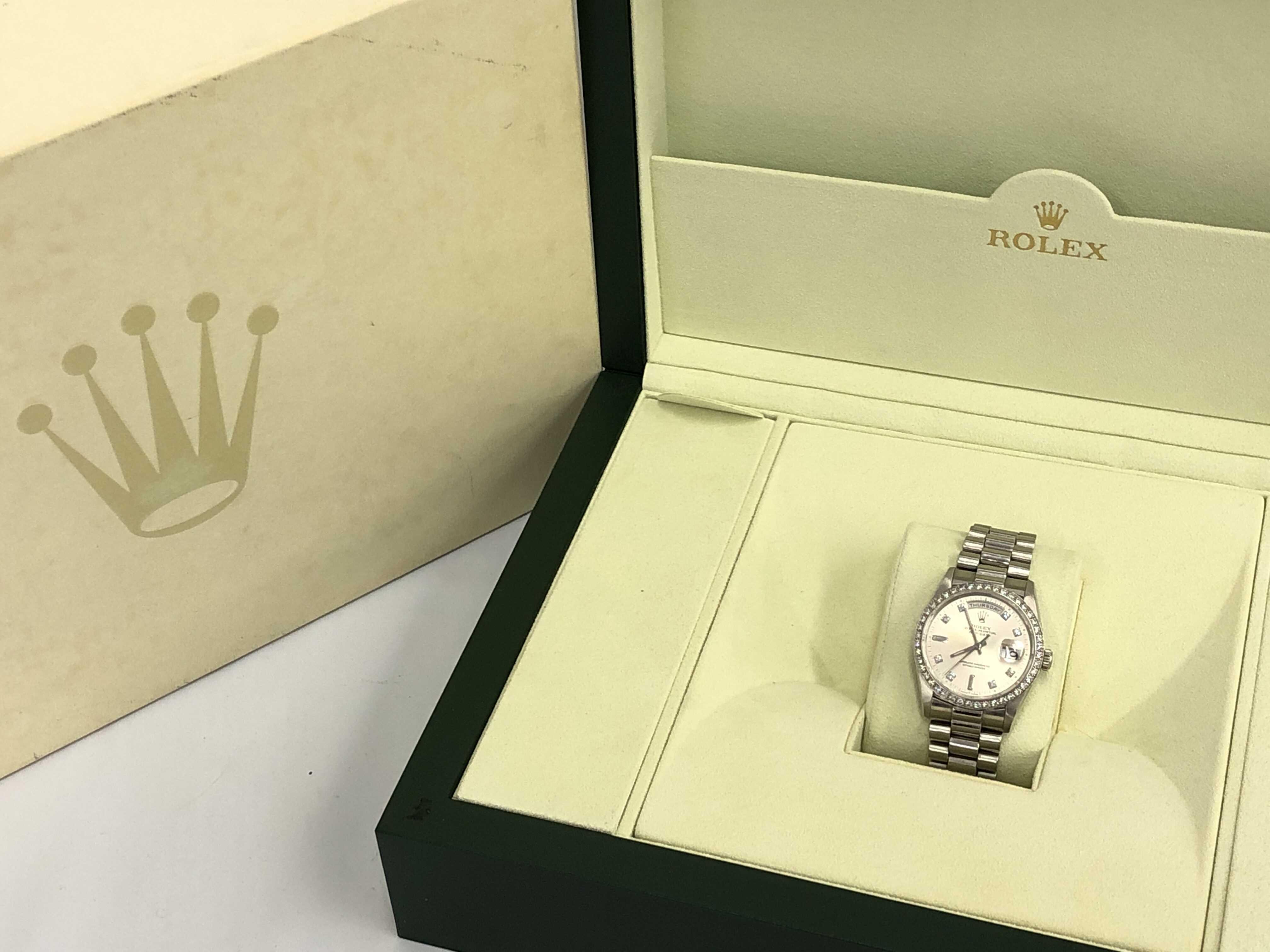(1935_0165)ロレックス 18346A L931293 Pt950 ボーイズ腕時計
